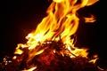 Картинка макро, тьма, огонь, пламя, fire, костёр
