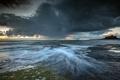 Картинка море, пейзаж, England, Bamburgh