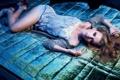 Картинка девушка, модель, красавица, лежит, beatiful girl