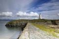 Картинка море, пейзаж, берег, маяк