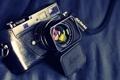 Картинка ретро, цифровой дальномерный фотоаппарат, фотоаппарат, Leica, макро