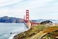 Картинка облака, Калифорния, солнечный, небо, Соединенные Штаты, Bay Bridge, парусник
