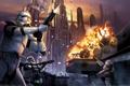 Картинка Clones, Battle, Star Wars, Battlefront, Corusant, Elite Squadron