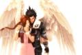 Картинка Square Enix, final fantasy 7, Zack Fair, Aerith Gainsborough