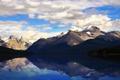 Картинка вода, горы, озеро, фото, обои, пейзажи