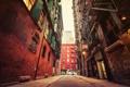 Картинка улица, здания, Нью-Йорк, Бруклин, автомобили, городской, Соединенные Штаты Америки