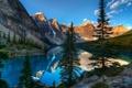 Картинка горы, лес, река, озеро, природа