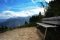 Картинка горы, скамейка, природа, фото, пейзажи, вид, красота
