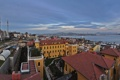 Картинка пролив, дома, панорама, мечеть, Стамбул, Турция, минарет