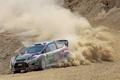 Картинка Ford, Пыль, Занос, WRC, Rally, Fiesta, Яри-Матти Латвала