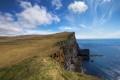 Картинка обрыв, Исландия, берег, море