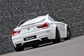 Картинка BMW, white, tuning, coupe, g-power, back, f13