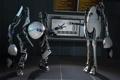 Картинка роботы, Portal 2, Coop, камень-ножницы-бумага