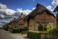 Картинка город, фото, улица, забор, Англия, дома, Winchester