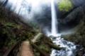 Картинка мост, водопад, United States, Washington, Mount Pleasant