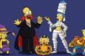 Картинка праздник, семья, Halloween, Simpsons, мульт, симсоны