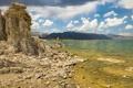 Картинка california, blue, Mono Lake