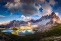 Картинка горы, природа, озера, долина