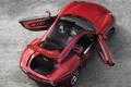 Картинка двери, Alfa Romeo, багажник, открытые, Touring, Disco Volante