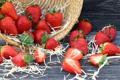 Картинка ягоды, корзина, клубника