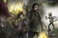 Картинка concept, арт, монстры, Элли, The Last of Us, Джоэл, Последние из нас