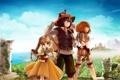 Картинка игра, аниме, друзья, Фантазии жизни Mabinogi