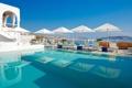 Картинка вилла, бассейн, Греция, море