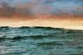 Картинка море, волны, небо, тучи, океан