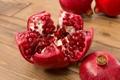 Картинка зерна, grain, cloves, гранат, pomegranate, дольки