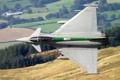 Картинка многоцелевой, истребитель, ландшафт, Eurofighter Typhoon, полёт