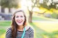 Картинка девушка, улыбка, настроение, портрет