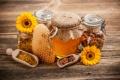 Картинка цветы, соты, мед, перга, обножка