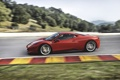 Картинка Красный, Авто, Феррари, Ferrari, вид сбоку, 458, Italia