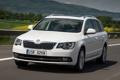 Картинка дорога, car, машина, white, в движении, Škoda, Combi