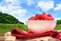 Картинка природа, ягода, малина