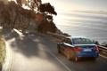 Картинка дорога, море, car, машина, вода, солнце, деревья