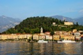 Картинка город, фото, побережье, дома, Италия, Bellagio
