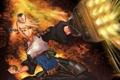 Картинка девушка, оружие, граната, арт, dungeon fighter online