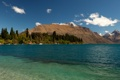 Картинка деревья, горы, озеро, берег, лодки, Новая Зеландия, Wakatipu