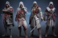 Картинка команда, Ubisoft, убийцы, Thief, Ассасины, Berserker, Assassins Creed: Identity