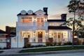 Картинка дизайн, город, дом, фото, фонари, особняк
