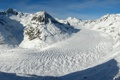 Картинка снег, горы, Природа