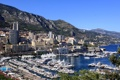 Картинка горы, город, фото, побережье, дома, Монако, Monte Carlo