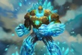 Картинка лед, магия, арт, голем, juggernaut wars, vern