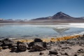 Картинка небо, горы, озеро, камни, Боливия