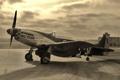 Картинка P-51D, Mustang, истребитель, одноместный
