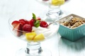 Картинка малина, клубника, фрукты, крем, fruit, cream, dessert