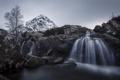 Картинка горы, река, водопад