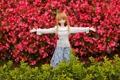 Картинка цветы, игрушка, растения, кукла, рыжая