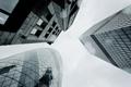 Картинка стекло, ввысь, Лондон, здания, небоскреб, небоскребы, снизу вверх